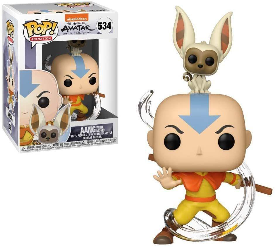 Funko Pop - Aang with Momo 534 (Avatar, the last airbender)