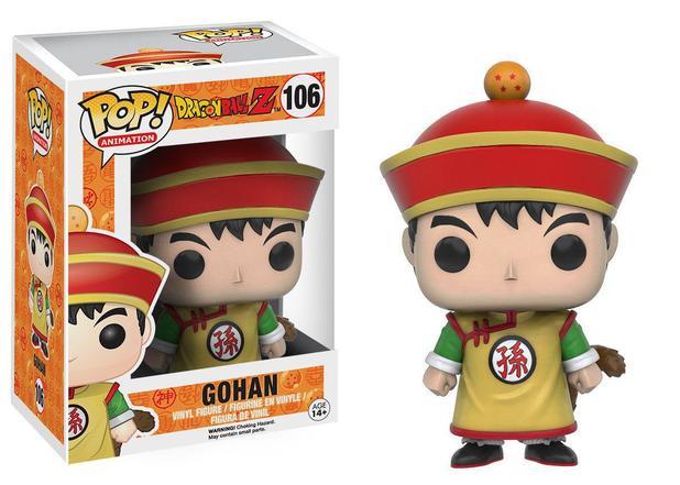 Funko Pop - Gohan 106 (Dragon Ball, Animation, Animação)