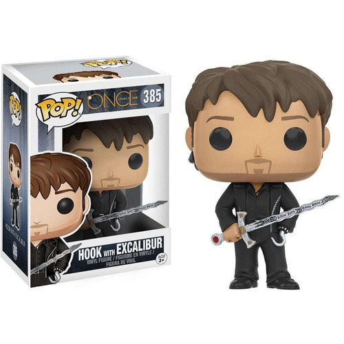 Funko Pop - Hook With Scalibur 385 (Once upon a Time)