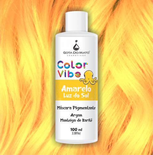 Mascara Pigmentante Color Vibe - Amarelo Luz do Sol 100ml