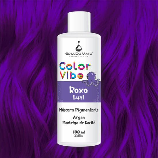 Mascara Pigmentante Color Vibe - Roxo Lual 100ml