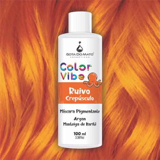 Mascara Pigmentante Color Vibe - Ruivo Crepúsculo 100ml