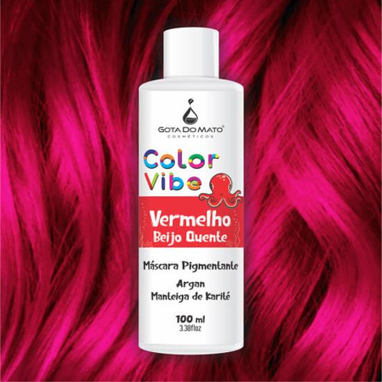 Mascara Pigmentante Color Vibe - Vermelho Beijo Quente 100ml