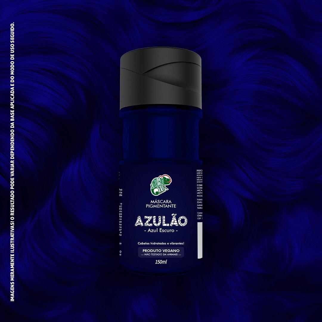Tonalizante Kamaleão - Azulão 150ml - Azul Escuro