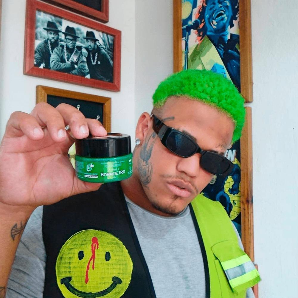 Tonalizante Kamaleão - Babadeiro 100g (Verde) Maíra Medeiros