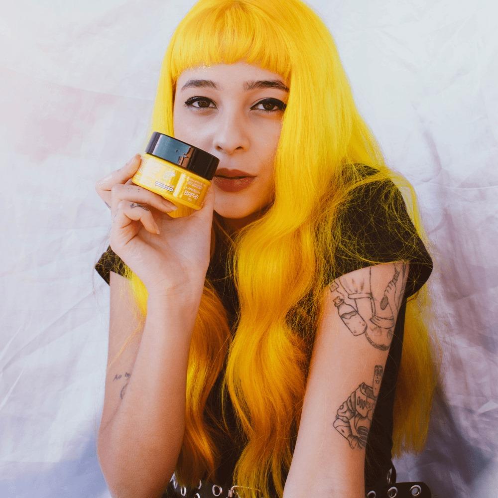 Tonalizante Kamaleão - Bapho 100g (Amarelo) Maíra Medeiros