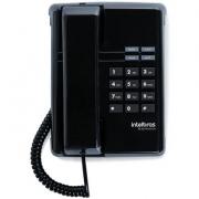 Telefone Intelbras Tc 50 Premium Preto Mesa E Parede