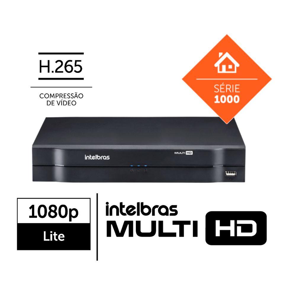 Dvr Multi Hd 04 Portas mhdx 1104 C/Hd 01tb Intelbras