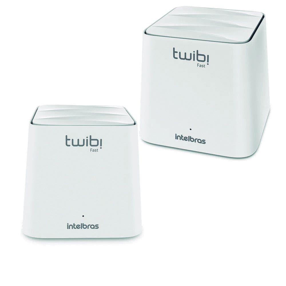 Roteador Wireless Ac 1200 Mesh Twibi Fast (2 Unidades) Intelbras