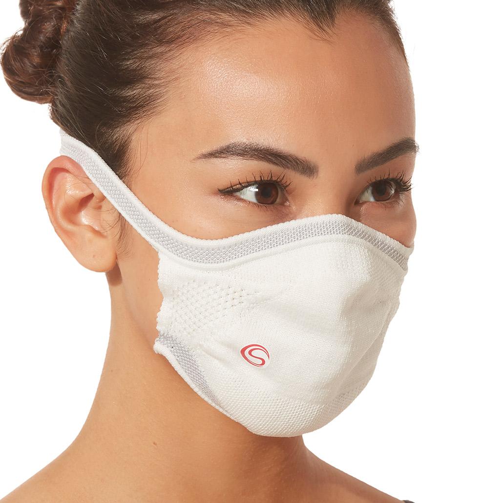 Máscara Protetora Infantil Branca Cia Do Sono