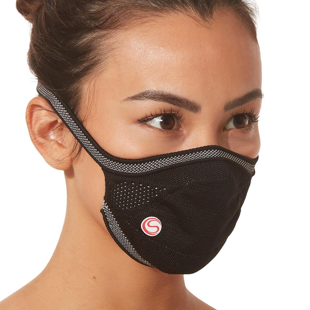 Máscara Protetora Infantil Preta Cia Do Sono