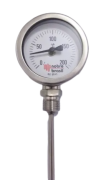 Termometro Reto Total Inox Visor 2.1/2