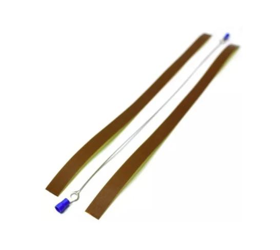 3 Kit Reparo Seladora Resistência Fita Niquel + Teflon 90cm Reparo