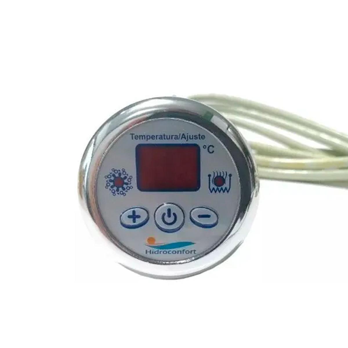 Aquecedor Hidroconfort 9000w 220v Hdcf Chrome Silver