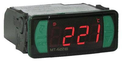 Controlador de Temperatura e Temporizador Mt-622e Termopar J 110-220v