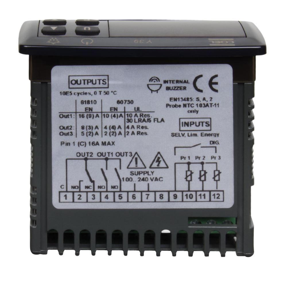 Controlador de Temperatura Umidade Y39 Hrrr