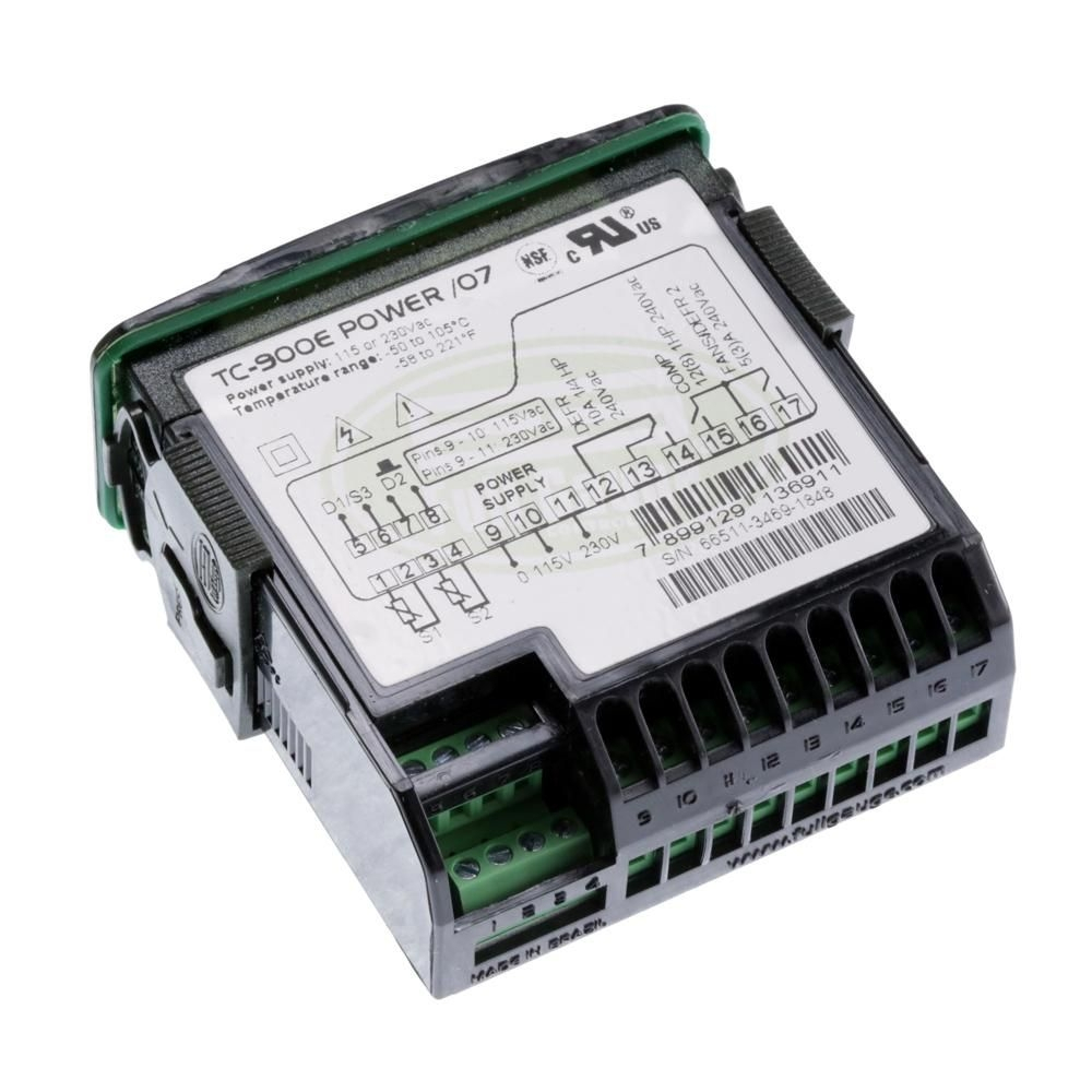Controlador Full Gauge  Tc-900e Power 115-230vac