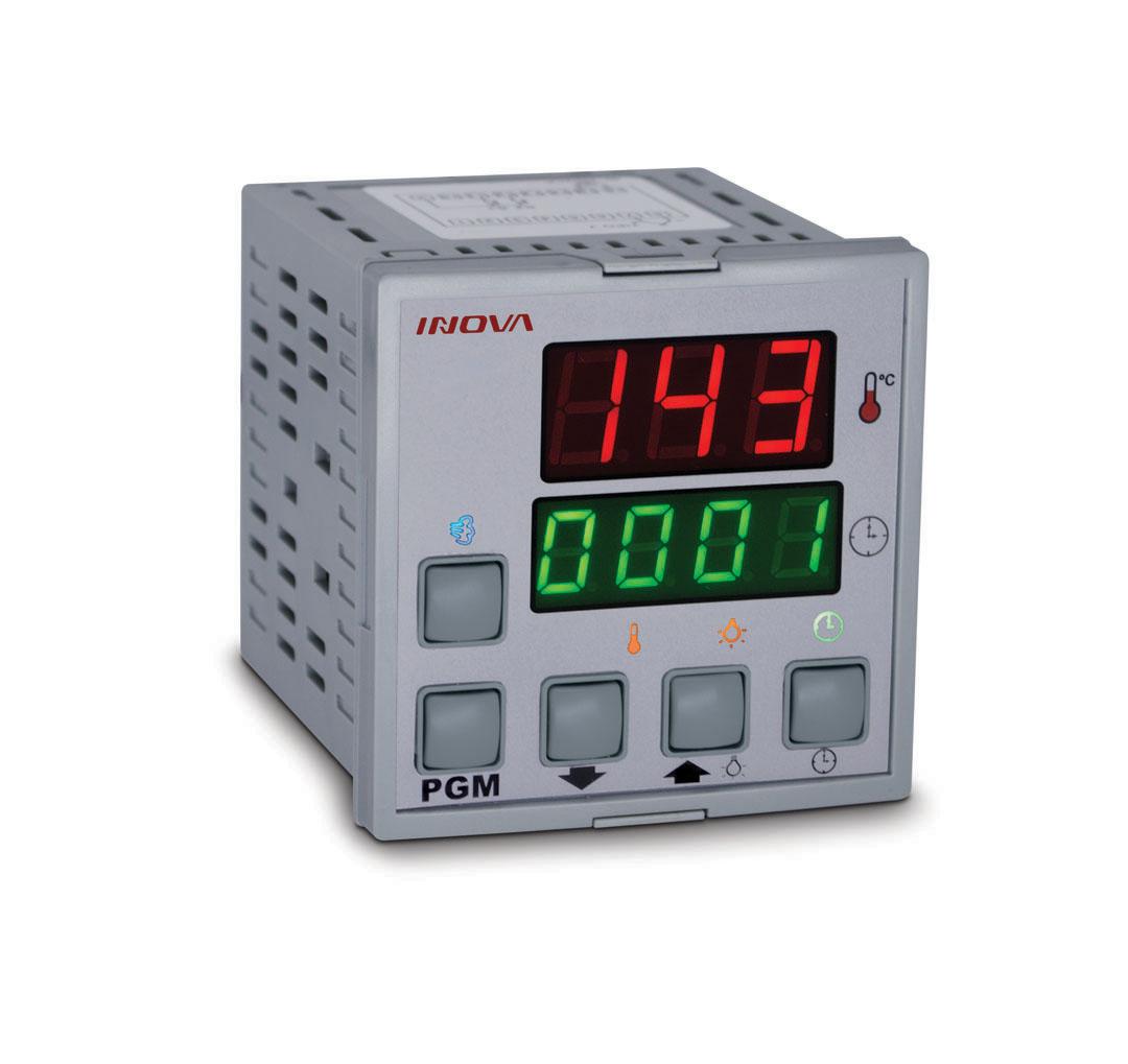 Controlador Inv-20012 Tempo e Temp. Lastro - Termopar J