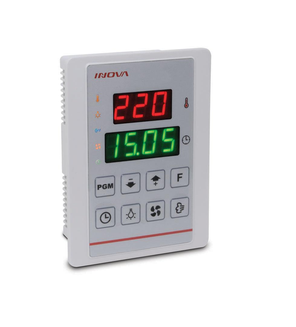 Controle de Tempo e Temperatura - P/ Sistema a Gas/eletrico/lenha - Alimentacao: 80 ~ 250 Vac