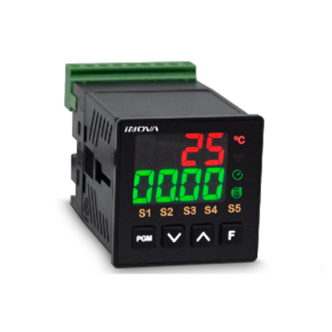 Inv-ka2-02-m-h, Saida Rrs - Controlador Temperatura Pid C/ Alarme -10 a 1200 Tipo J / K / Pt100