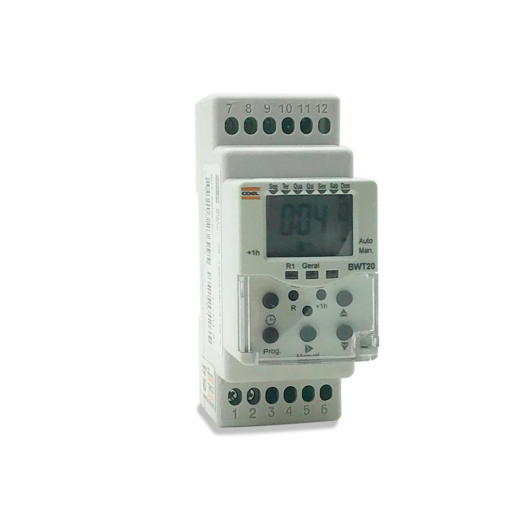 Programador de Horario Bwt20, 100-240vca, 48-63hz