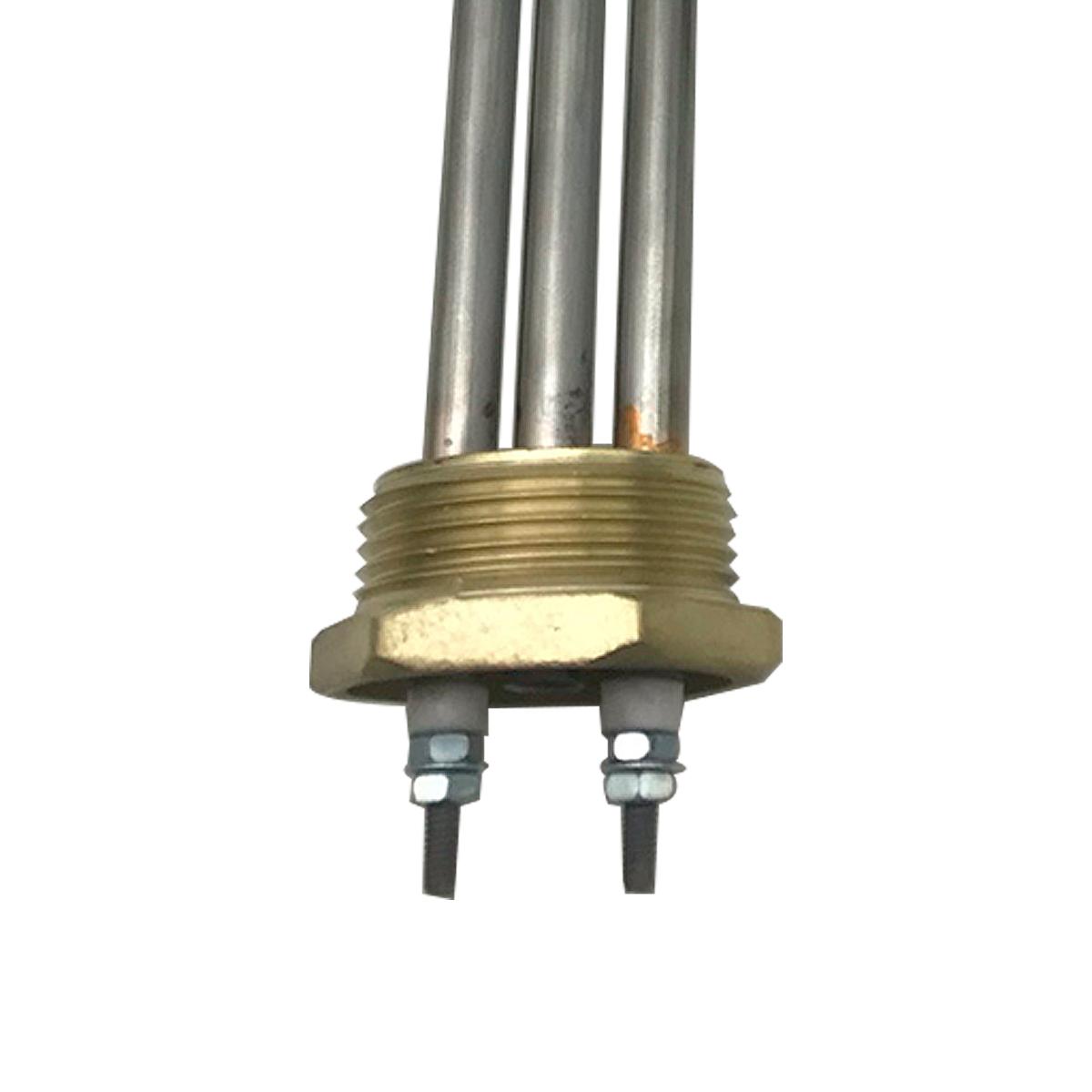 Resistência Elétrica Tubular Inox 3000W X 220V 1 elemento com bulbo para Aquecedor Solar