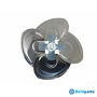 Helice York Em Aluminio Alps Eco Modelos Yhdc18fs-adg, Yhdc24fs-adg, Yhjc24fs-adg Com Eixo 12mm