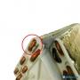 Serpentina Evaporadora Midea Msv1 12 Cr Vertu