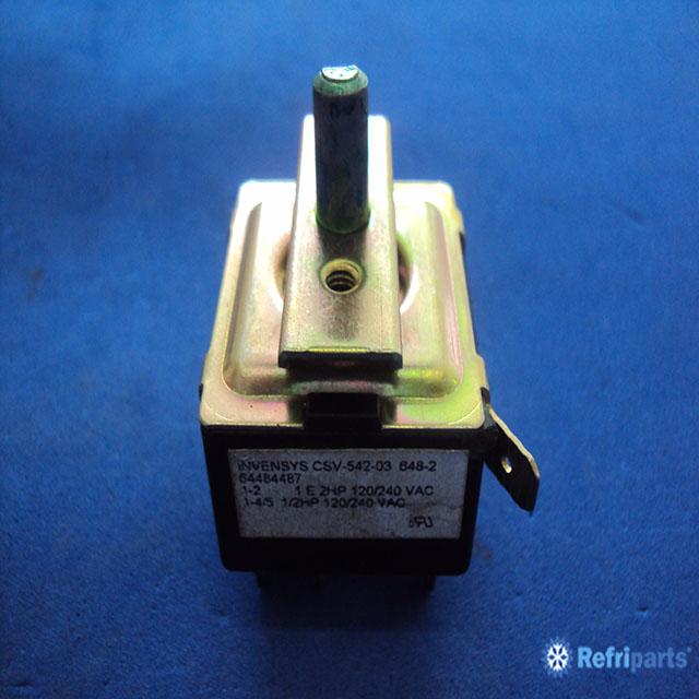 Chave Seletora Electrolux 5 Posicoes Modelo Csv-542-03  64484487 Invensys