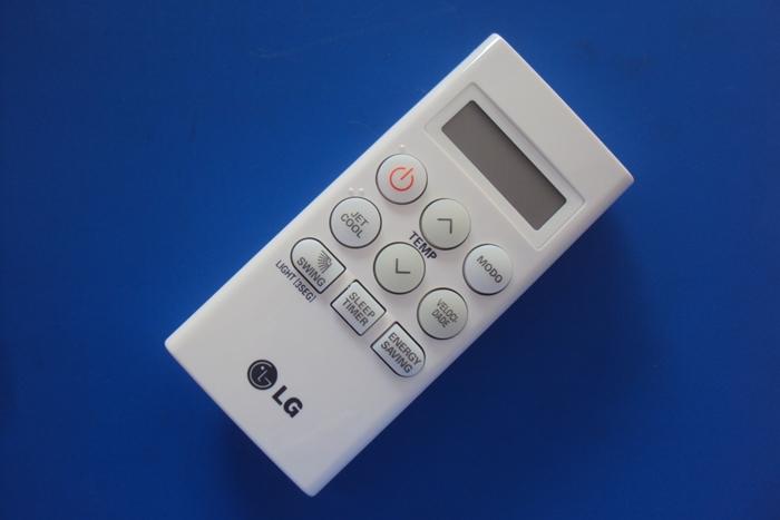 Controle Remoto Lg Modelo Tsnc Capacidades 7.000, 9.000 E 24.000 Btu