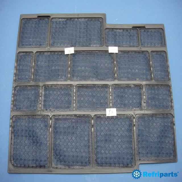 Filtro Ar Condicionado York Modelos Ysea18fsadk, Yska18fsadk, Yjhfyc018bbacaf, Yjhfyh018bbacaf  Lado Direito