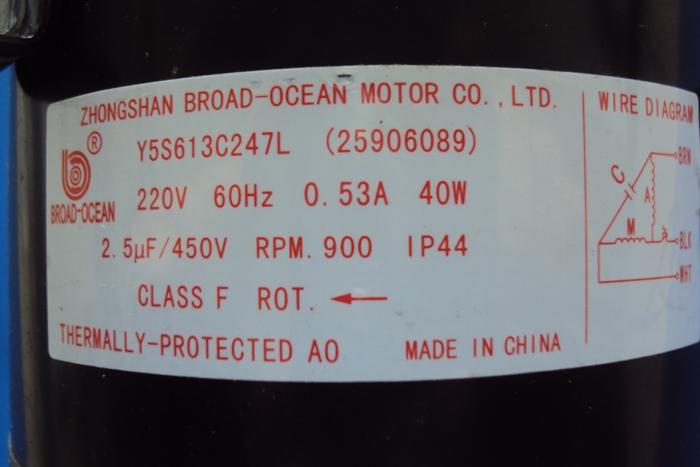 Motor Ventilador Condensadora Springer Midea Modelos 38kcf12s5, 38kch12c5 (temos Substituto)