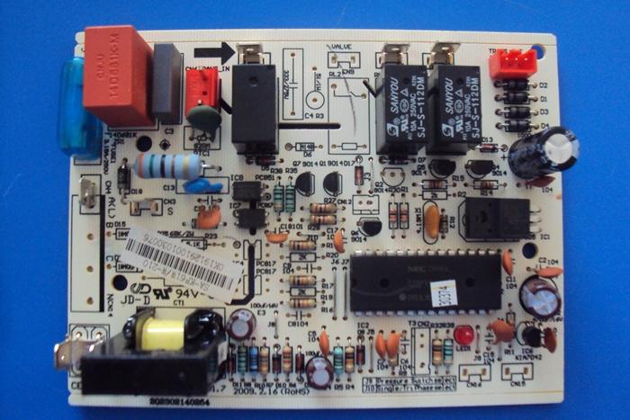 Placa Eletronica Condensadora Midea Modelos Msd 22cr, Msa 22cr, Mse1 24cr, Mss 22cr, Msm 24cr