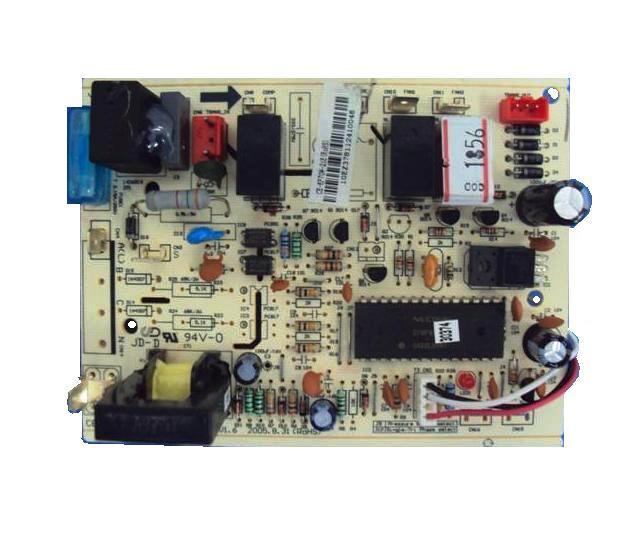 Placa Eletronica Condensadora York Modelos Rada 30.000 E Tlda 24.000 Btus