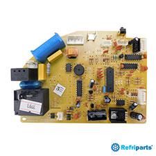 Placa Eletronica Evaporadora Komeco Modelos Abs07fc-2lx, Abs09fc-2lx, Bzs07fc-2lx, Bzs09fc-2lx