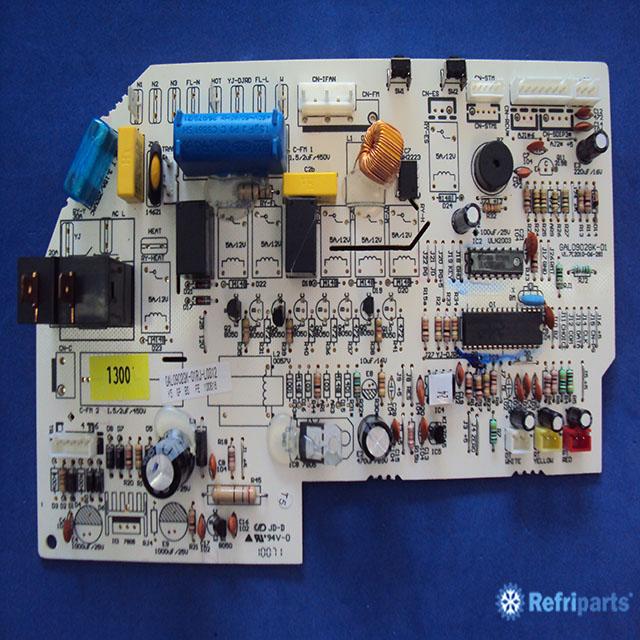 Placa Eletronica Evaporadora York Modelo Yjka09 Ada  Adk