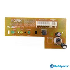 Placa Receptora York Modelos Mcc09, Mch09, Mcc12, Mch12, Mcc18, Mch18, Mcc25, Mch25
