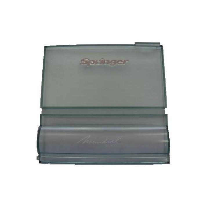 Tampa Acrilico Verde Frente Plastica Ar Condicionado Janela Springer Mundial 405 30k