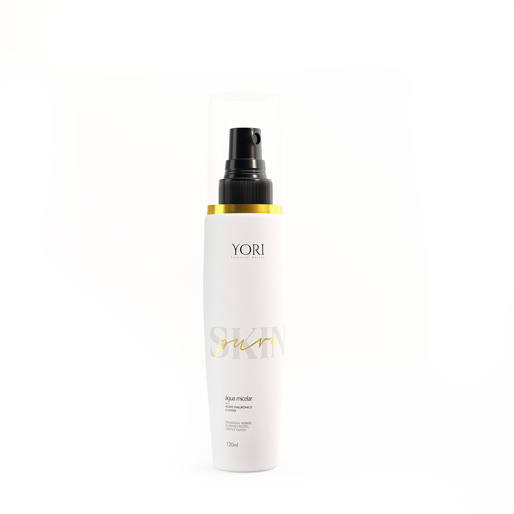Água Micelar Skin Pure com Nano Caviar e Ácido Hialurônico