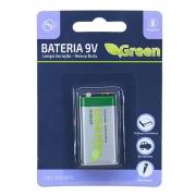 BATERIA 9 V 6F22 MANGANES HEAVY DUTY GRANEL GREEN