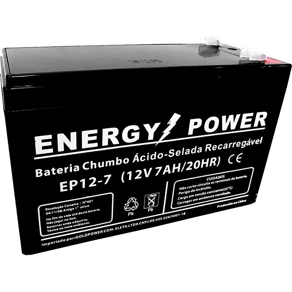 BATERIA SELADA 12V 7AH PARA NOBREAK IEP018 ENERGY