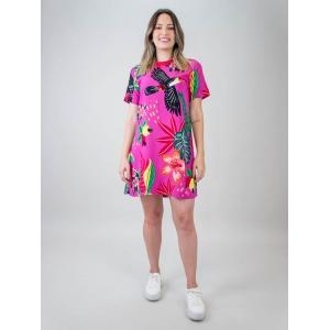 Tshirt Dress Vivi Tucano Pink