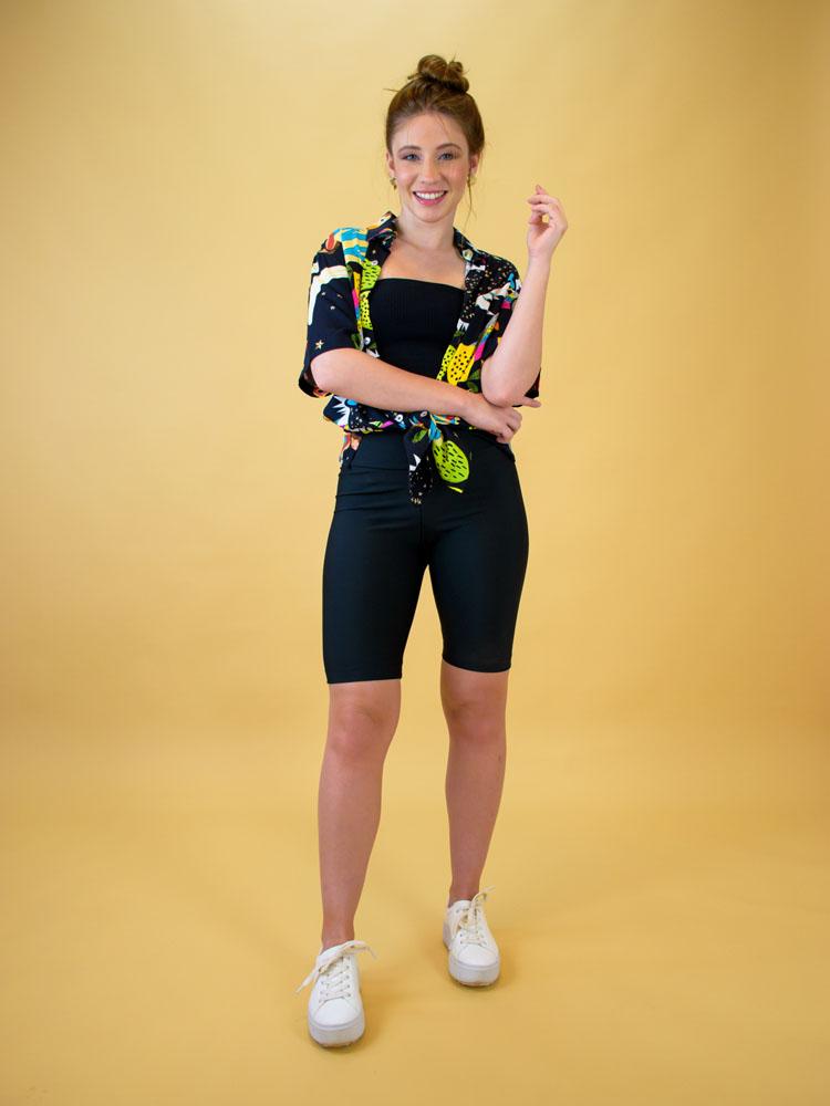 Biker Short Preto