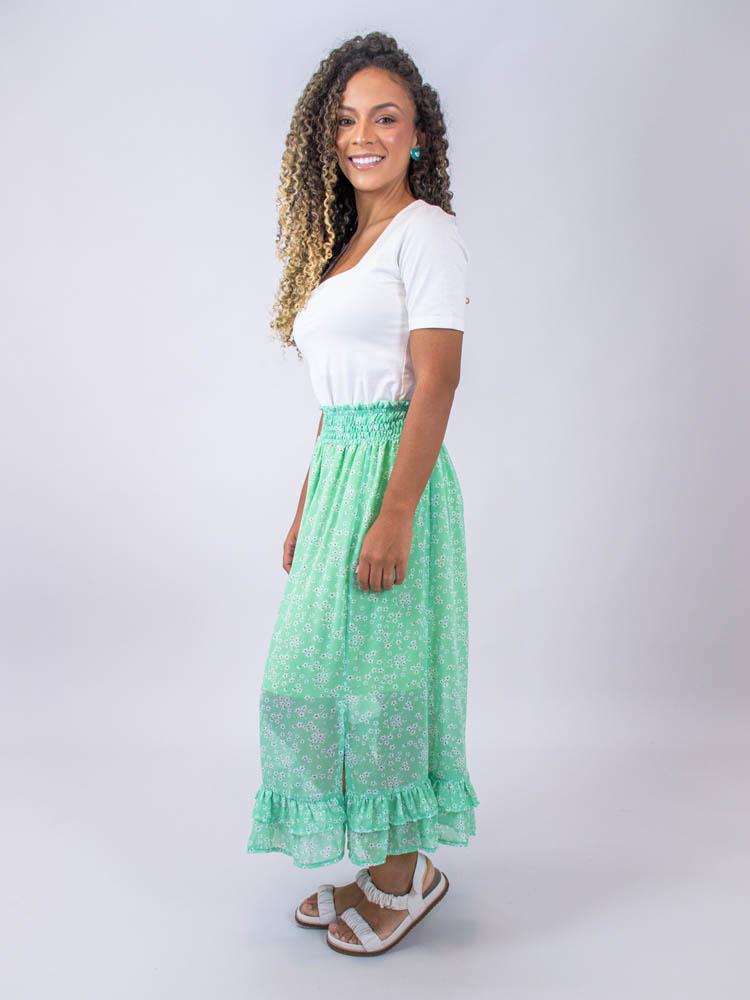 Blusa Decote Quadrado Off  - Carmelina.com.br