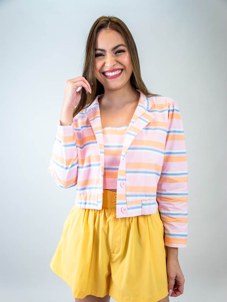 Blusa Listra Color Coral