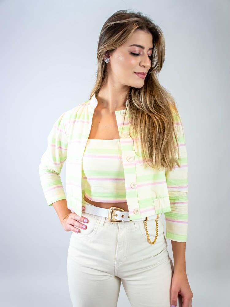 Blusa Listra Color Lima