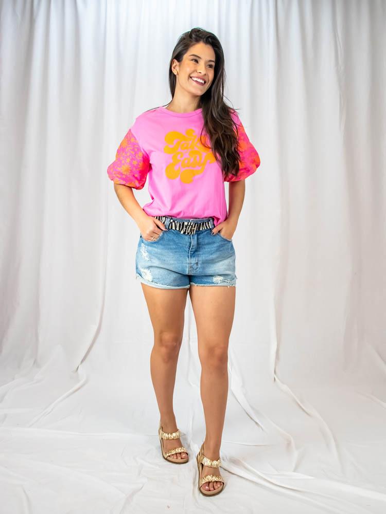 Blusa Take It Easy  - Carmelina.com.br