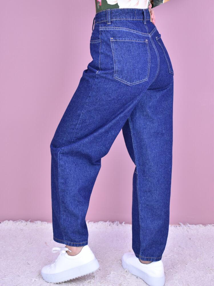 Calça Jeans Slouchy  - Carmelina.com.br