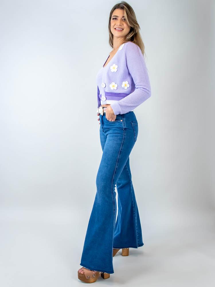 Calça Super Flare Jeans