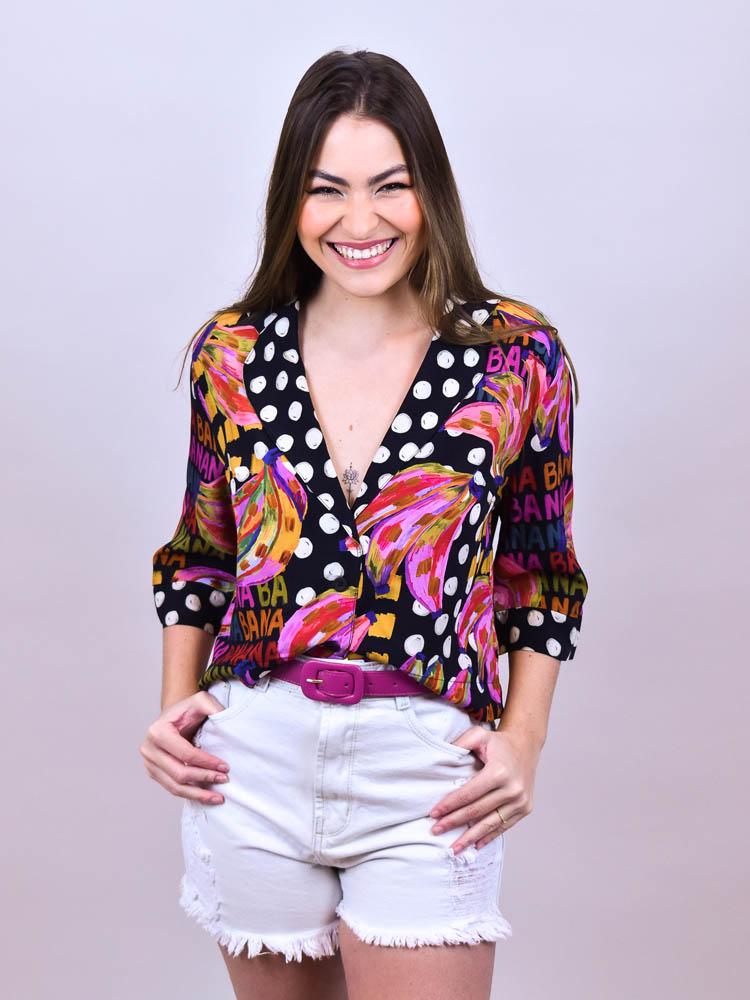 Camisa Farm Bananatic  - Carmelina.com.br